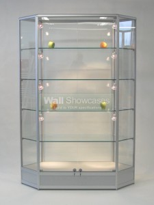 Hexagon Display Cabinets