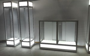 Wall Upright Showcases 637 - email